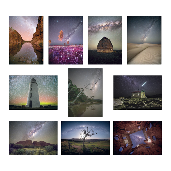 Australian Astrophotography Greeting Cards
